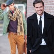 Same man different clothes — Stock Photo #66184287