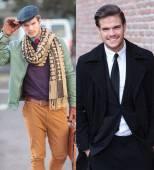 Same man different clothes — Foto de Stock