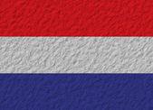 Netherlands flag stone — Stock Photo