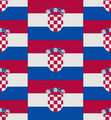 Croatia flag texture vector — Stockvektor