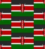 Kenya flag texture vector — Stock Vector