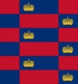 Liechtenstein flag texture vector — Stock Vector