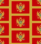 Montenegro flag texture vector — Stock Vector