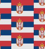 Serbia flag texture vector — Stock Vector
