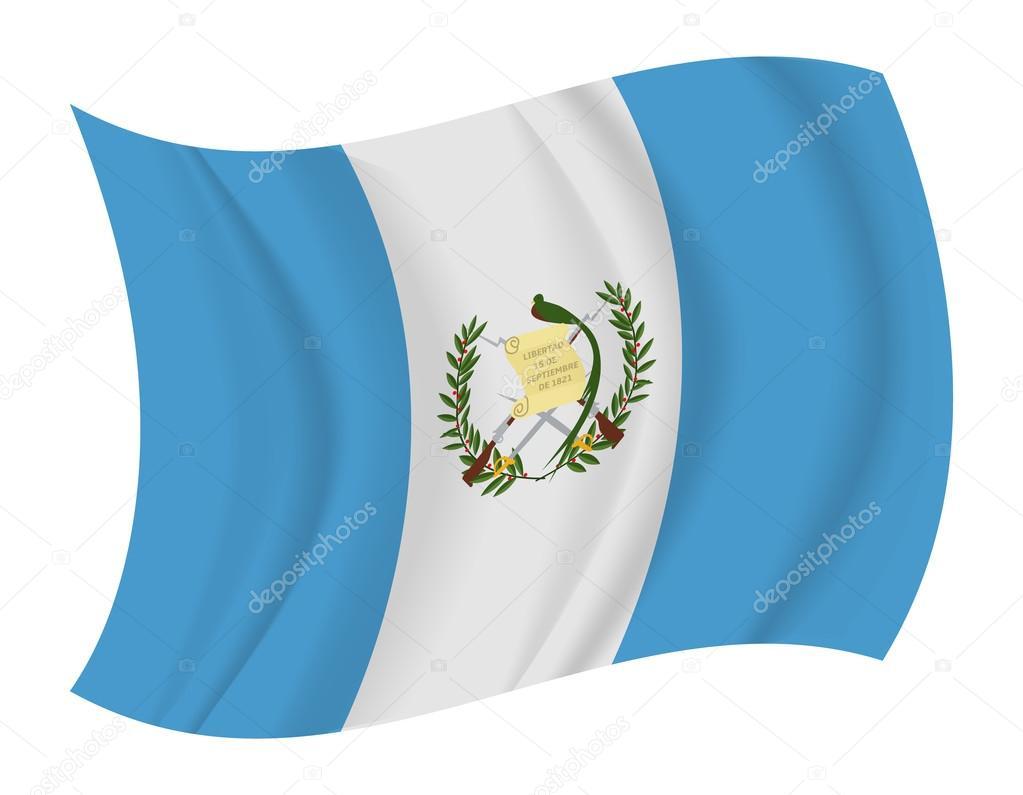 Guatemala Flag Waving Vector Stock Noche0 66598861
