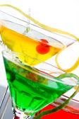 Three refreshing citrus cocktails  — Stock Photo