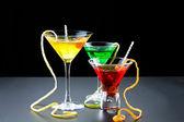 Three refreshing citrus cocktails  — Foto de Stock