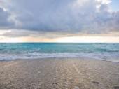The famous Kathisma beach in Lefkada  — Stock fotografie