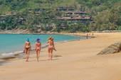 Beach of Patong, Koh Phuket in Thailand — Stock Photo