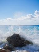 The famous Kathisma beach in Lefkada — Stock Photo