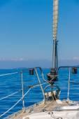 Sailing yacht in Lefkada Greece — Foto de Stock