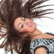 Beautiful Healthy Girl hair motion — Stock Photo #54874019
