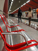 Elliniko metro station Athens Greece — Stock Photo