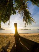 Beach i Thailand på sunrise — Stockfoto