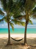 Tropisch strand van Koh Samui eiland — Stockfoto