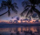 Sea sunrise in Koh Samui island — Stok fotoğraf