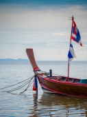 Boot in phuket thailand — Stockfoto