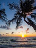 Sea sunrise in Koh Samui island — Stockfoto