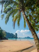 Beach in Krabi Thailand — Stock Photo