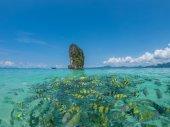 Spiaggia di krabi thailandia — Foto Stock