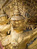 Wat Phra Kaew (the temple in grand palace) — Stock Photo