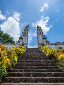 Pura besakih, the biggest temple in bali — Stock Photo