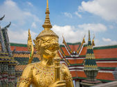 Wat Phra Kaeo. Bangkok — Stock Photo