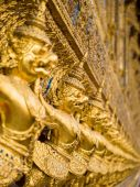 Garuda Wat Phra Kaew Bangkok Thailand — Stock Photo