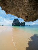 The railay tropical beach thailand — Stock Photo