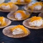 Thai sweet flavour crispy fancy pancake closeup  — Stock Photo #61628095
