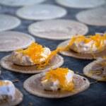 Thai sweet flavour crispy fancy pancake closeup  — Stock Photo #61628105