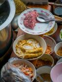 The Floating market in Bangkok  — Zdjęcie stockowe