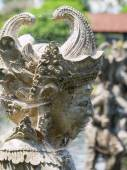 Sculpture in Taman Ujung Water Palace , Bali — Stock Photo