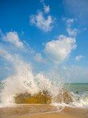 Tropical beach at Koh Samui, Thailand — Stock Photo