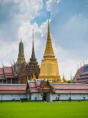 Wat pra kaew, Grand palace ,Bangkok — Stock Photo