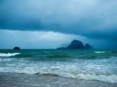 Stormy seascape. Ao Nang Krabi — Foto de Stock