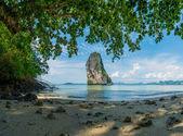 Poda beach in Krabi Thailand — Stock Photo