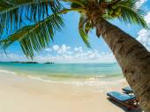 Tropical beach of Koh Samui island — Stockfoto