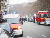 Charlie Hebdo massacre Paris France — Stock Photo