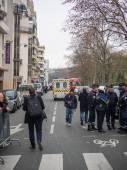 Charlie Hebdo massacre Paris France — Foto Stock
