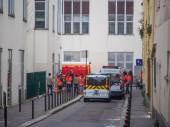 Charlie Hebdo massacre Paris France — Stock Photo