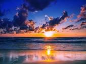 Zee zonsopgang in Koh Samui eiland — Stockfoto