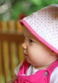 Profile of cute child — Stock Photo