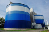 Biogas facility — Stock Photo