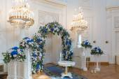 Bruiloftszaal ceremonie — Stockfoto