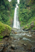 Waterfall in Bali jungle — Stock Photo