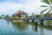Karangasem water temple palace in Bali — Fotografia Stock