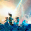 Blur background of people at the dj concert — Stock Photo #67644389