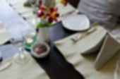Restaurant blur background — Stock Photo