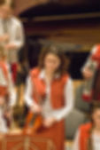 Classical concert blur background — Stock Photo